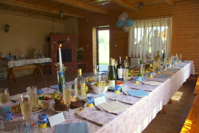 """Pirtis, pokylių salė Druskininkuose """"Sodyba rūke"""" - nedidelėms vestuvėms, krikštynoms, gimtadieniui, įmonės kolektyvo šventei..."""