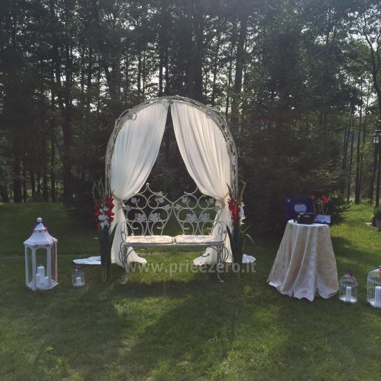 Turauskų kaimo turizmo sodyba vestuvėms su didele pokylių sale - 2