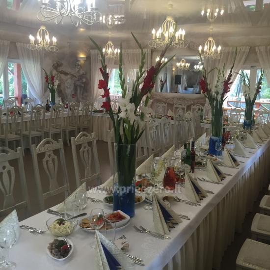 Turauskų kaimo turizmo sodyba vestuvėms su didele pokylių sale - 3