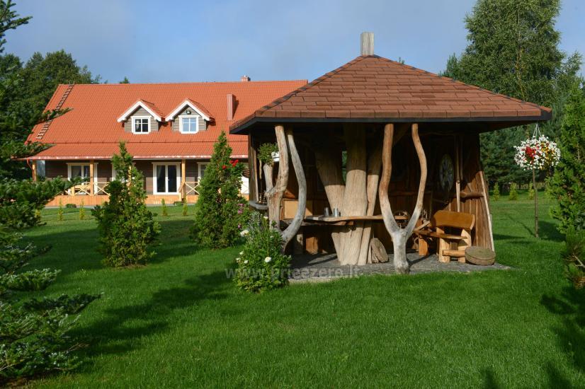 Turauskų kaimo turizmo sodyba vestuvėms su didele pokylių sale - 12