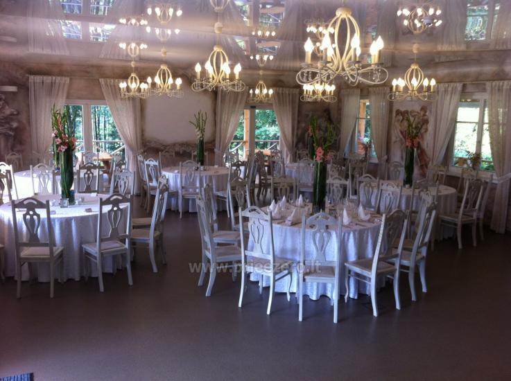 Turauskų kaimo turizmo sodyba vestuvėms su didele pokylių sale - 4