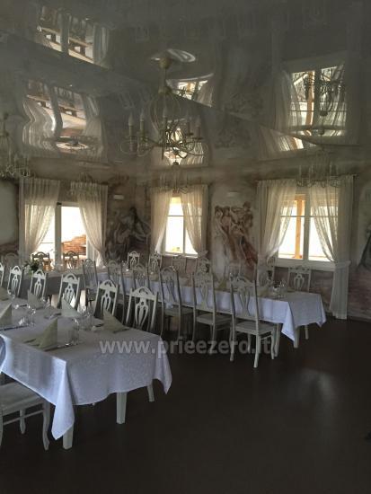 Turauskų kaimo turizmo sodyba vestuvėms su didele pokylių sale - 15