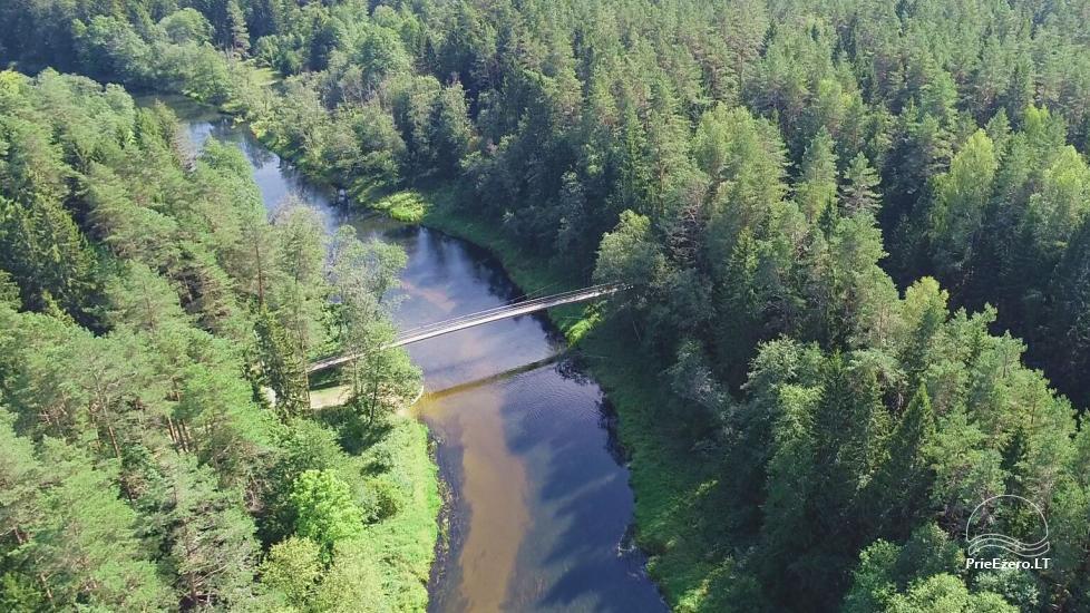 Mikierių (beždžionių) tiltas per Šventosios upę Anykščių rajone - 2