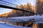 Mikierių (beždžionių) tiltas per Šventosios upę Anykščių rajone