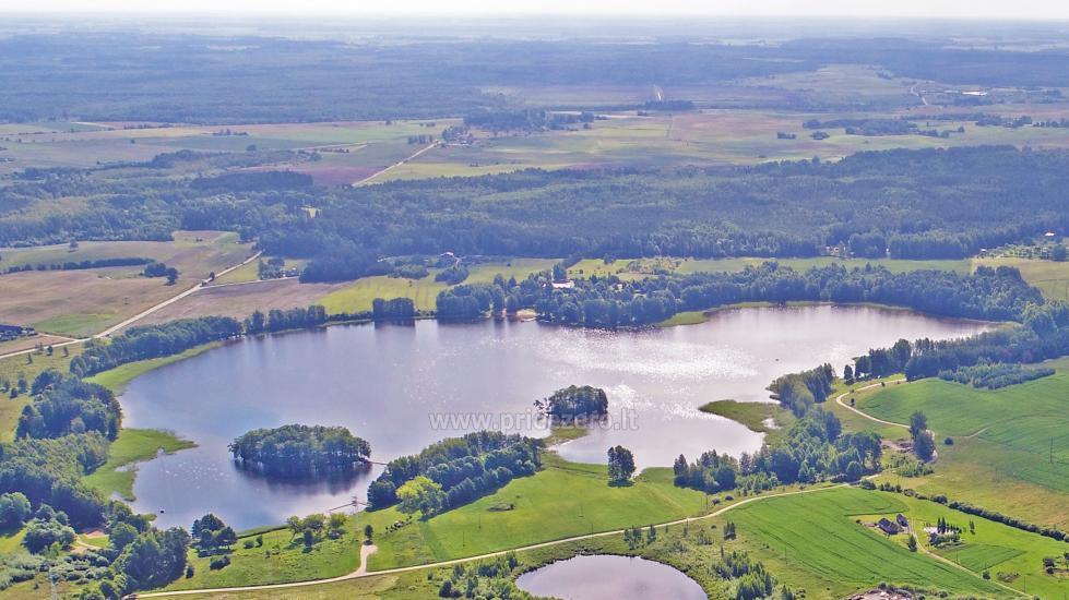 Vandenlenčių (irklenčių) parkas Bridvaišio ežere, Tytuvėnuose - 2