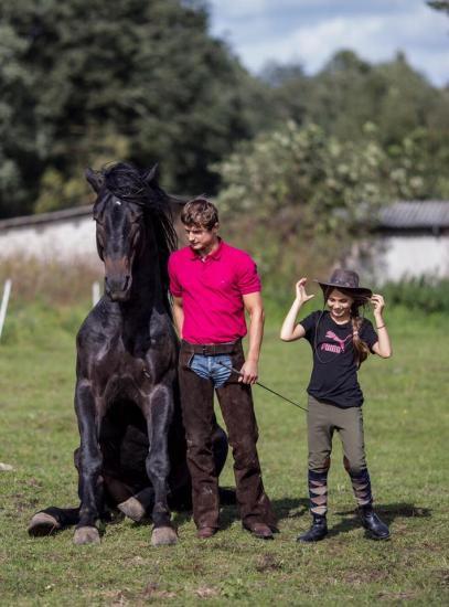 Žirgo ir žmogaus draugystė, jojimo pamokos, žirgų apjojimas ir dresūra - 9