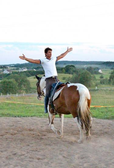 Žirgo ir žmogaus draugystė, jojimo pamokos, žirgų apjojimas ir dresūra - 16
