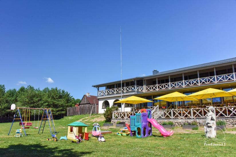 Kavinė Kurėnų užeiga ant ežero kranto Ukmergės rajone - 3