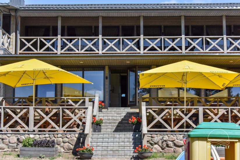 Kavinė Kurėnų užeiga ant ežero kranto Ukmergės rajone - 1