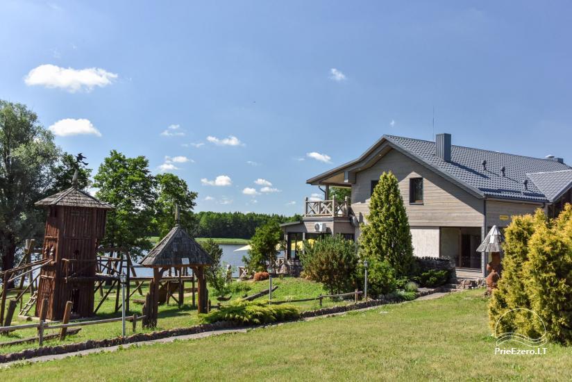 Kavinė Kurėnų užeiga ant ežero kranto Ukmergės rajone - 2