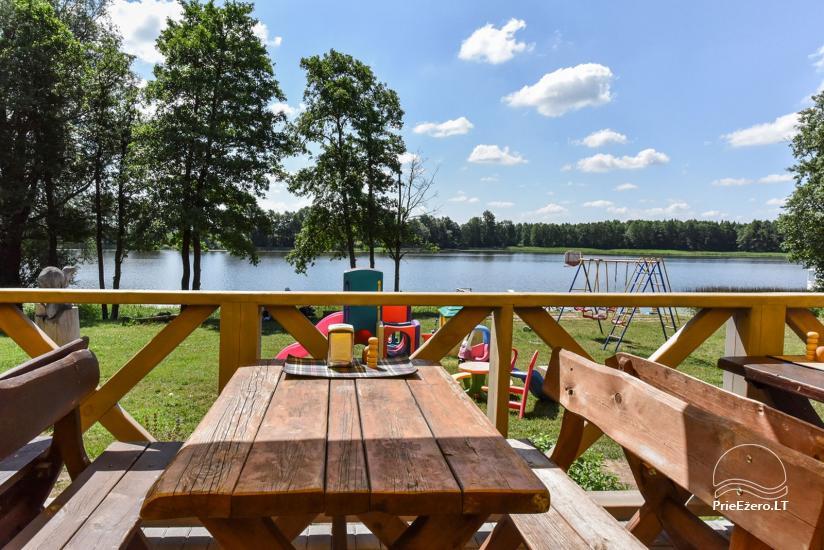 Kavinė Kurėnų užeiga ant ežero kranto Ukmergės rajone - 9