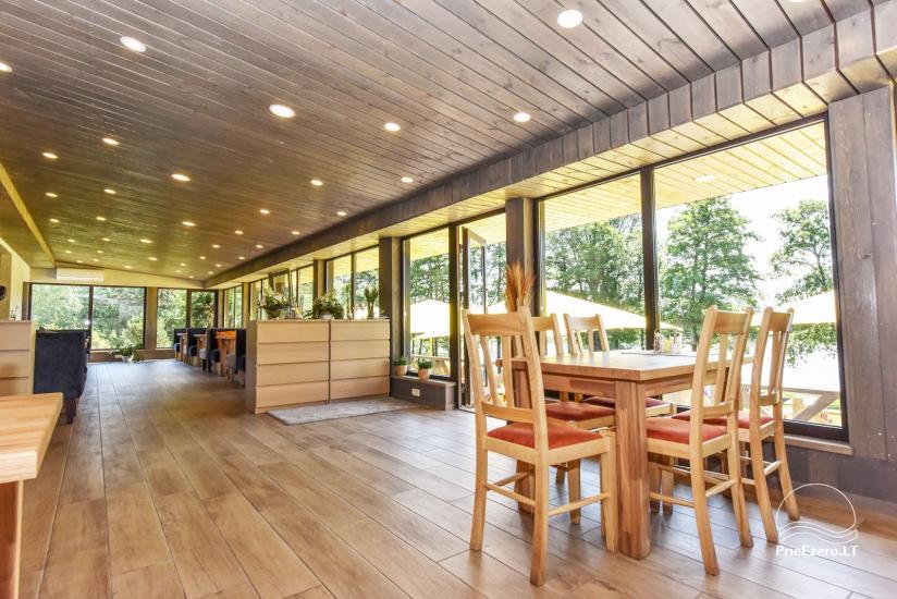 Kavinė Kurėnų užeiga ant ežero kranto Ukmergės rajone - 10