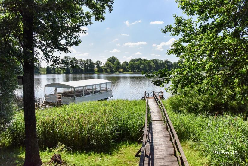 Kavinė Kurėnų užeiga ant ežero kranto Ukmergės rajone - 21