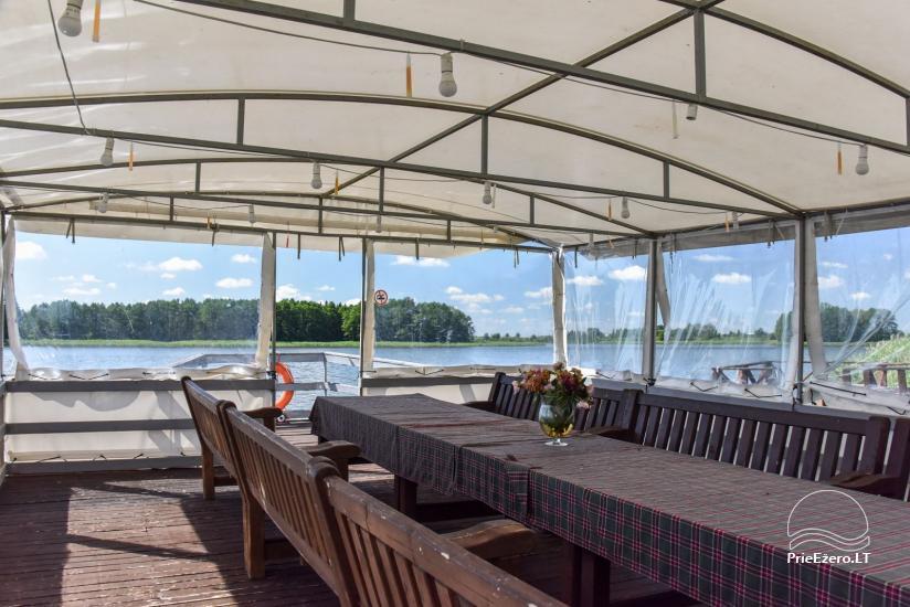Kavinė Kurėnų užeiga ant ežero kranto Ukmergės rajone - 23