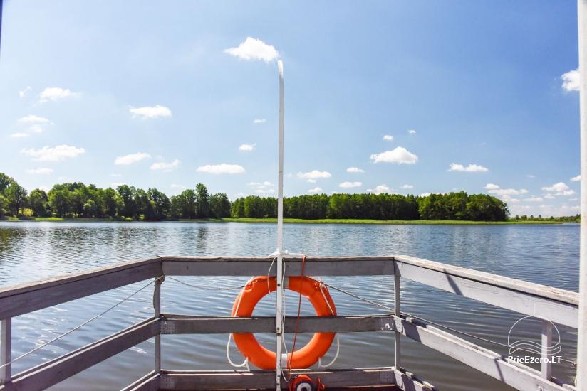 Kavinė Kurėnų užeiga ant ežero kranto Ukmergės rajone - 24