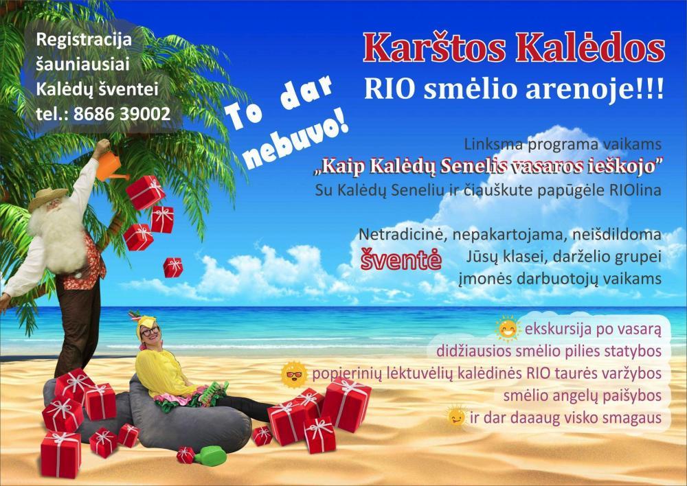 Kalėdinė programa vaikams Kaune - Karštos Kalėdos RIO arenoje - 1