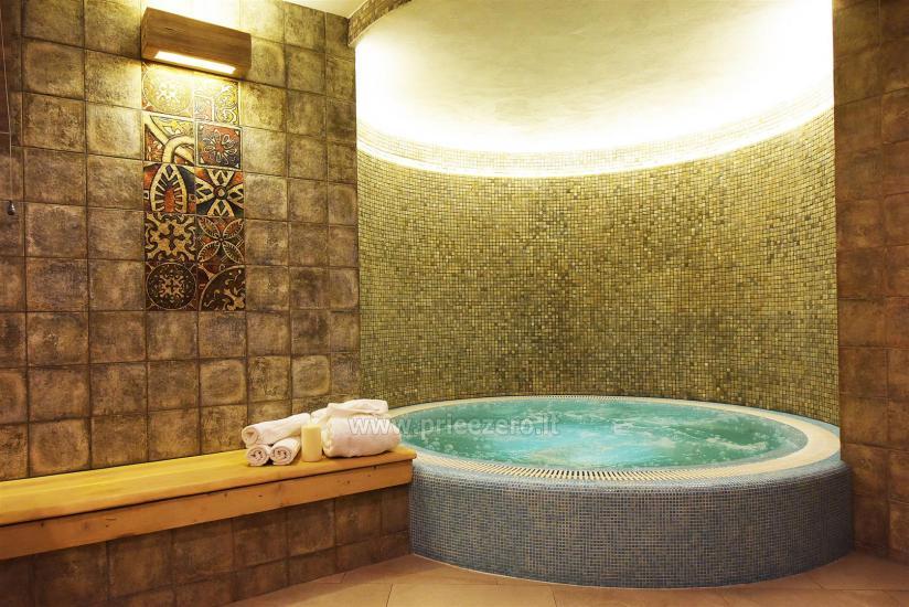 Pirtis ir sūkurinė vonia Klaipėdoje svečių namuose KUBU - 7