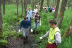 Netradicinės paslaugos:žygis po pelkes, naktinis orientacinis žygis į mišką - 6