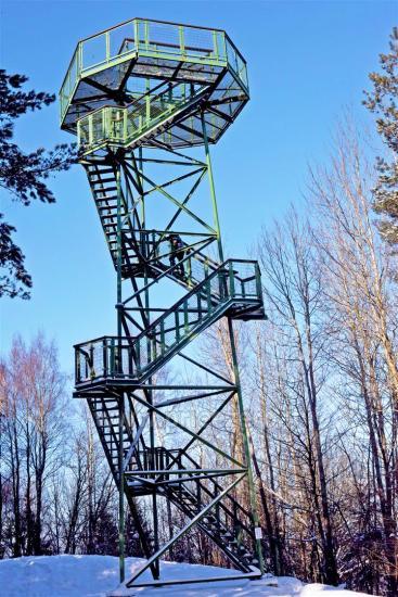 Aukštagirės apžvalgos bokštas Šilalės rajone - 1