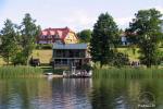 Aktyvios pramogos sodyboje Trakų raj. ant ežero kranto