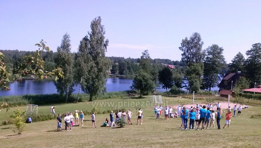 Sodybos nuoma ant ežero kranto Trakų raj. verslo renginiams ir įmonių šventėms - 5