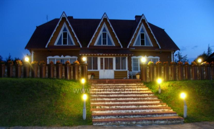 Sodybos nuoma ant ežero kranto Trakų raj. verslo renginiams ir įmonių šventėms - 1