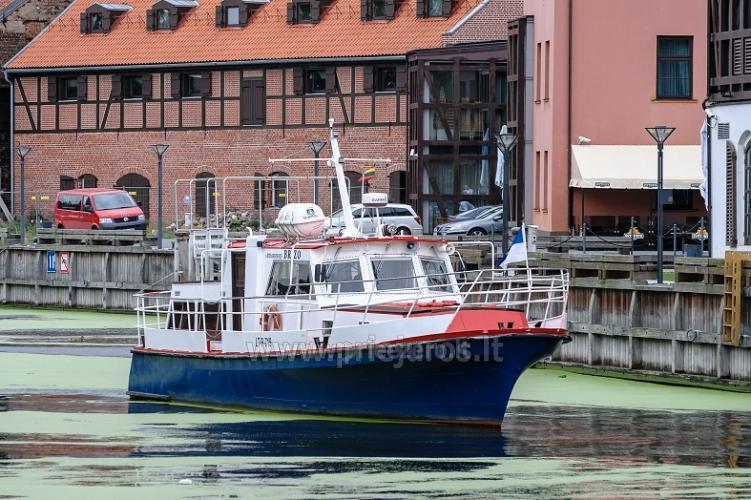Laivo  nuoma Klaipėdoje. Pramoginė menkių žvejyba Baltijos jūroje laivu BRIZO - 1