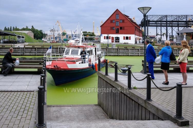 Laivo  nuoma Klaipėdoje. Pramoginė menkių žvejyba Baltijos jūroje laivu BRIZO - 2