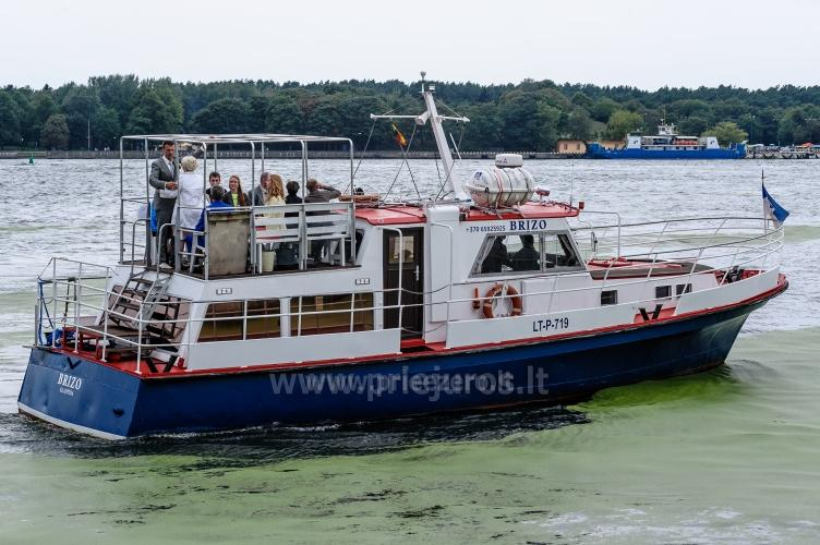 Laivo  nuoma Klaipėdoje. Pramoginė menkių žvejyba Baltijos jūroje laivu BRIZO - 3