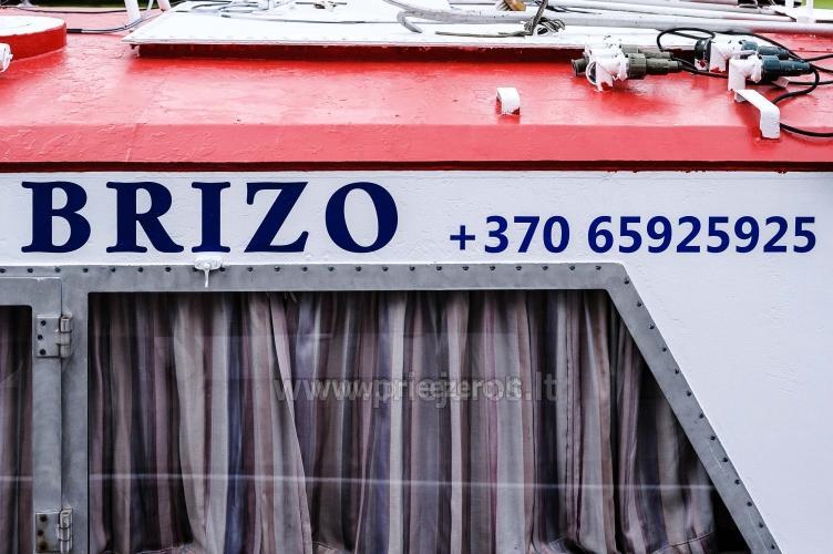 Laivo  nuoma Klaipėdoje. Pramoginė menkių žvejyba Baltijos jūroje laivu BRIZO - 4