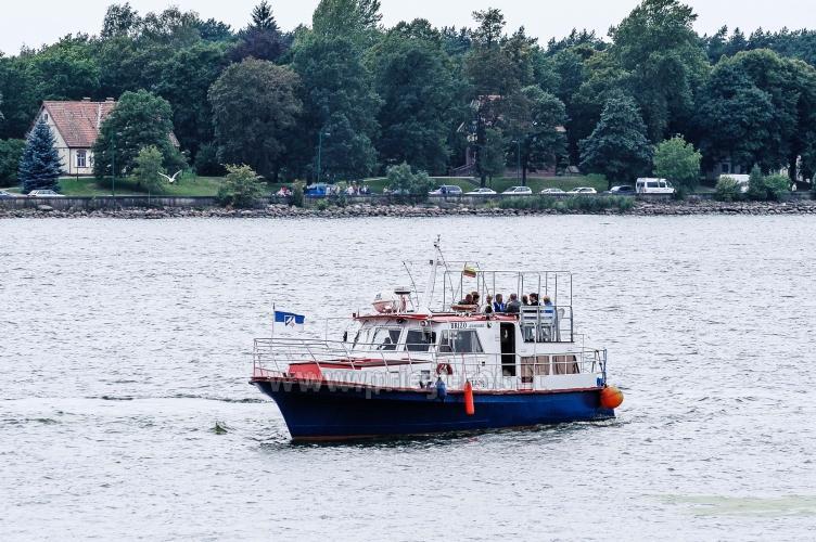 Laivo  nuoma Klaipėdoje. Pramoginė menkių žvejyba Baltijos jūroje laivu BRIZO - 6