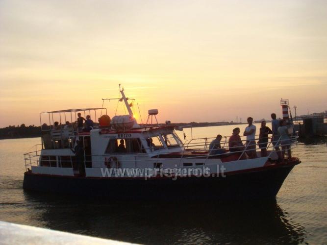 Laivo  nuoma Klaipėdoje. Pramoginė menkių žvejyba Baltijos jūroje laivu BRIZO - 9