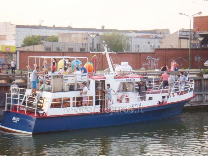 Laivo  nuoma Klaipėdoje. Pramoginė menkių žvejyba Baltijos jūroje laivu BRIZO - 10