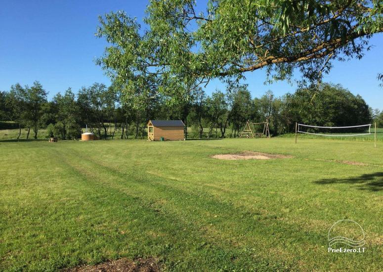 Baidarių, stovyklavietės nuoma prie Verknės upės, netoli Birštono - 8
