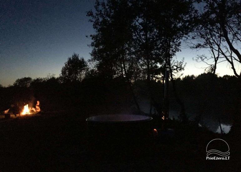 Baidarių, stovyklavietės nuoma prie Verknės upės, netoli Birštono - 9