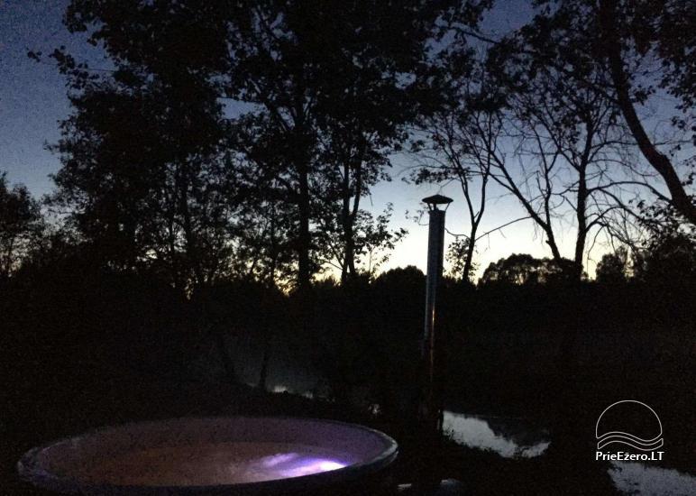 Baidarių, stovyklavietės nuoma prie Verknės upės, netoli Birštono - 11