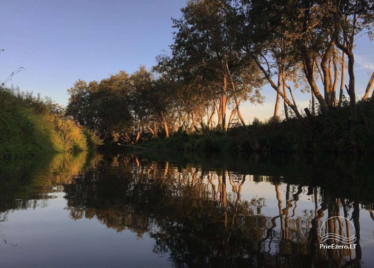 Baidarių, stovyklavietės nuoma prie Verknės upės, netoli Birštono - 2