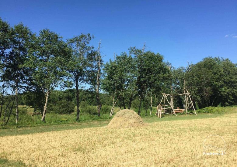 Baidarių, stovyklavietės nuoma prie Verknės upės, netoli Birštono - 15