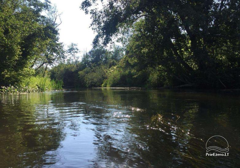 Baidarių, stovyklavietės nuoma prie Verknės upės, netoli Birštono - 16