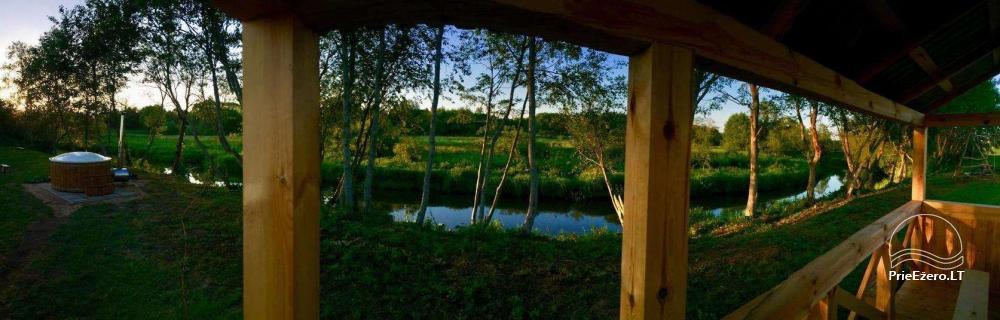 Baidarių, stovyklavietės nuoma prie Verknės upės, netoli Birštono - 5