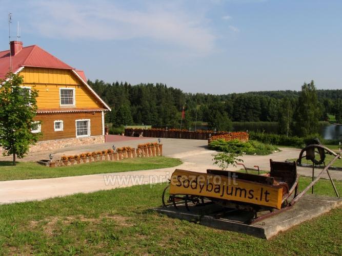 """""""Sodyba Jums"""" konferencijoms,seminarams ir mokymams Trakų raj. ant ežero kranto - 9"""