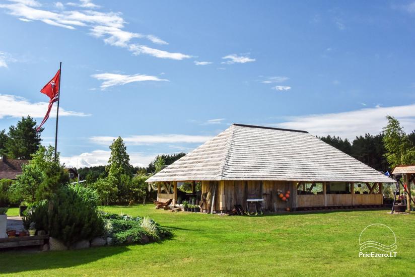 """Kavinė šventėms sodyboje """"JURGI"""" tarp jūros ir Papės ežero - 9"""