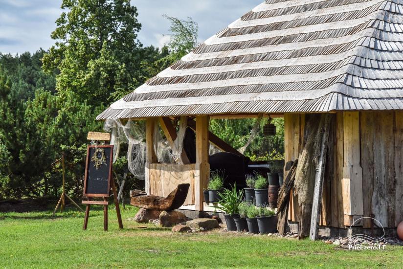 """Kavinė šventėms sodyboje """"JURGI"""" tarp jūros ir Papės ežero - 11"""