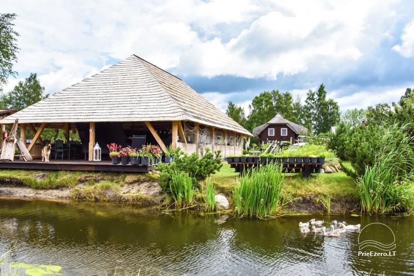 """Kavinė šventėms sodyboje """"JURGI"""" tarp jūros ir Papės ežero - 13"""
