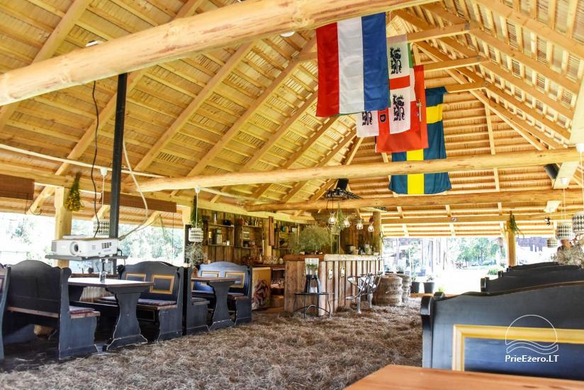 """Kavinė šventėms sodyboje """"JURGI"""" tarp jūros ir Papės ežero - 17"""