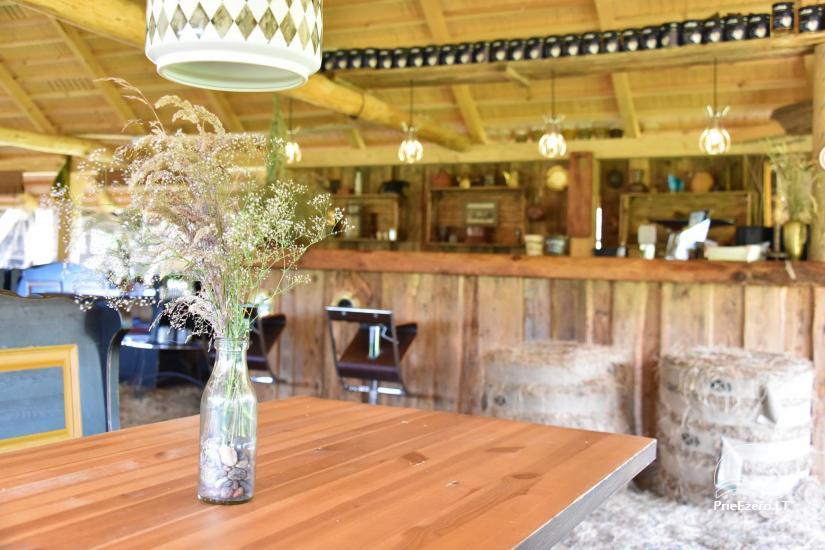 """Kavinė šventėms sodyboje """"JURGI"""" tarp jūros ir Papės ežero - 21"""
