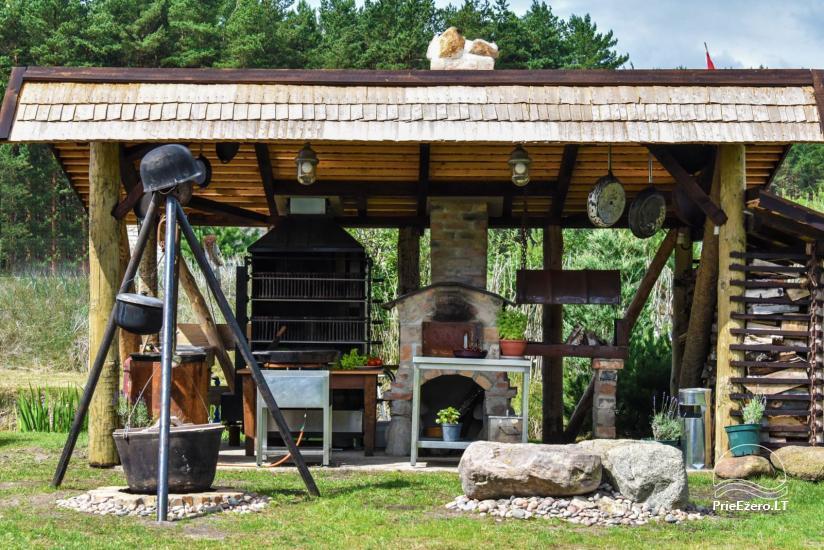 """Kavinė šventėms sodyboje """"JURGI"""" tarp jūros ir Papės ežero - 23"""