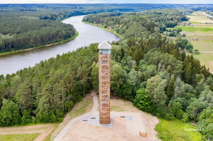 Birštono apžvalgos bokštas – aukščiausias Lietuvoje - 1
