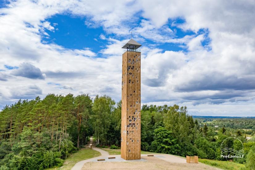 Birštono apžvalgos bokštas – aukščiausias Lietuvoje - 3