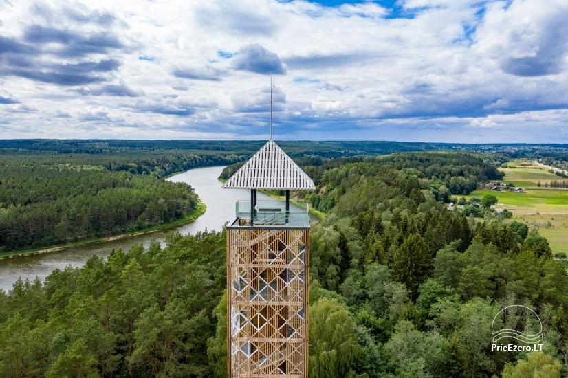 Birštono apžvalgos bokštas – aukščiausias Lietuvoje - 2